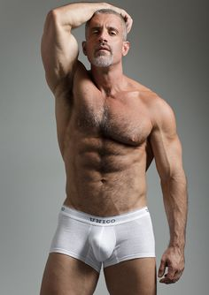 Men, Colton Ford, singer, gray, underwear, muscle