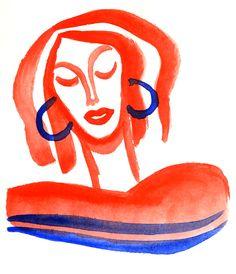 Léa Krawczyk  http://lea--krawczyk.tumblr.com/