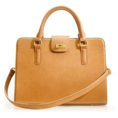 Edie attaché bag found on Polyvore
