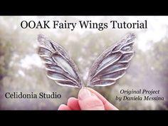 OOAK Fairy Wings Tutorial - Come fare ali per Fatine - YouTube
