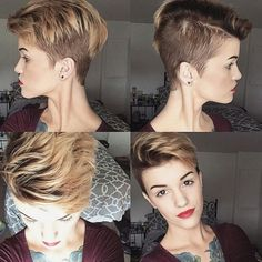 Wunderschöne Undercut-Frisuren für starke Frauen! Hast Du all Deinen Mut schon zusammengenommen? - Neue Frisur