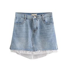Stylish Patchwork Denim Mini Skirt – Nads Shoes Denim Mini Skirt, Mini Skirts, Denim Ideas, Denim Patchwork, Denim Fashion, Stylish, Casual, Clothes, Shoes