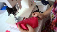 DIY Como fazer costura com debrum ou viés - Aula 55