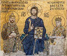 Hagia Sophia - The Empress Zoe mosaic