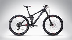Cube Stereo 140 Super HPC TM 27.5 carbon´n´flashred 2015