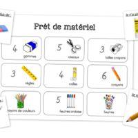 Gestion du matériel de la classe