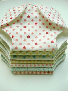Easier way of doing doll Diapers! Tutorial & printable diaper
