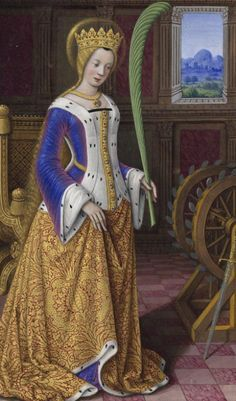 """from """"Grandes Heures d'Anne de Bretagne""""  worth checking out this amazing digitalization of the complete book."""