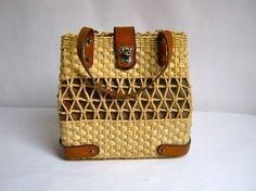 basket bag.#Basket #wicker Basket #basket handbag #wicker handbag