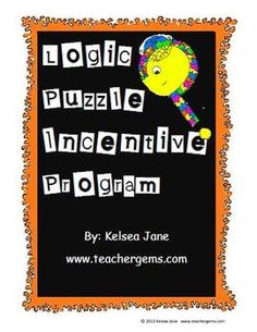 Want to motivate your students to improve their higher-order thinking skills? Look no further! Your students will LOVE this incentive program. It was my 4th graders favorite program ever!!! In this 30 page download you will find prize charts, awards, posters, free homework passes and much more.