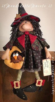 witch USA epattern in 2019 Easy Halloween Crafts, Halloween Doll, Halloween Ornaments, Holidays Halloween, Spooky Halloween, Fall Crafts, Halloween Decorations, Halloween 2020, Imprimibles Halloween
