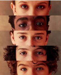 Millie, Caleb, Noah, Finn, Gaten. ️