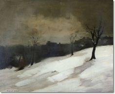 New York City Snow by Robert Henri