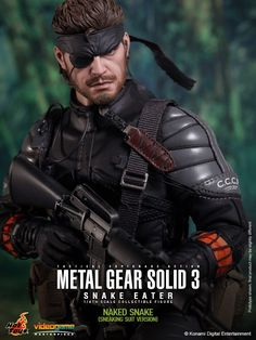 toyhaven: Preview & Pre-order Hot Toys Metal Gear Solid 3: Snake Eater - 1/6th scale Naked Snake (Sneaking Suit Version) 12-inch Collectible Figure