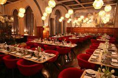 Arte y Gastronomía / Comer en Museos.  The Restaurant at the Royal Academy of Arts, London.