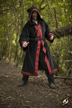 Robe Wizard, schwarz von Iron Fortress