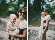 the sling diaries: jamie and henry babywearing fun! #sakurabloom