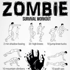 I feel like I'm the expert on how to survive a zombie apocalypse.