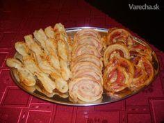 Slané variácie z lístkového cesta Shrimp, Cabbage, Food And Drink, Pizza, Chicken, Meat, Vegetables, Ethnic Recipes, Hampers