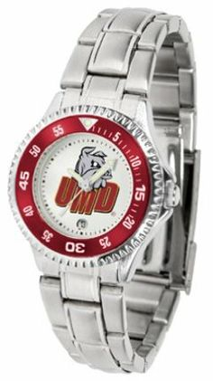 Minnesota (Duluth) Bulldogs Competitor Ladies Watch with Steel Band by SunTime. $85.45. Showcase the hottest design in watches today! The functional rotating bezel is color-coordinated to compliment the NCAA Minnesota (Duluth) Bulldogs logo. The Competitor Steel utilizes an attractive and secure stainless steel band.