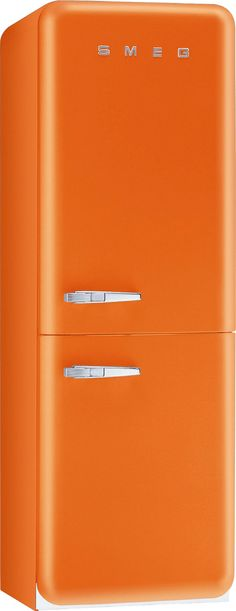 this fridge is everything. #smeg
