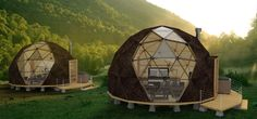 DOMOS Glam Camping, Glamping, Dome Structure, Dome House, Geodesic Dome, Outdoor Gear, Outdoor Lamps, Exterior Design, Modern Architecture