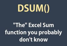 You must have learnt SUM in your early days of Excel and later might have learnt about nested IF statements to do conditional sum and you might have already learnt about SUMIF and SUMIFS. But there are situations when you can have nervous breakdown trying to make a formula. That is why many resort to pivot …