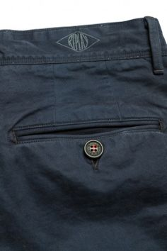 Yarn-overdyed cotton five-pocket pants. Avion blue. M9463 .000.51390 .292   Pantalones   Hombre   FW13   Replay   REPLAY Online Shop