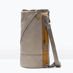 ZARA - MAN - DUFFLE BAG WITH BUCKLE