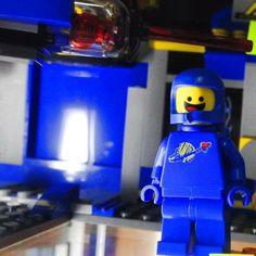 Benny the Astronaut. Spaceship!