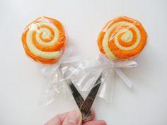 Gender Neutral Baby Gift 2 Washcloth Lollipop by babydelights1