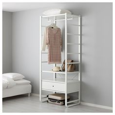 IKEA - ELVARLI, Shelf unit, You can always adapt or complete this open storage…