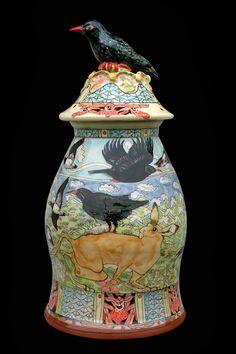 Large Jar by maureen minchin