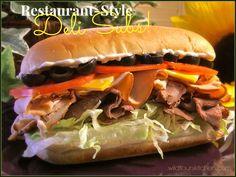 Restaurant-Style Deli Subs