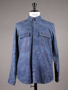 """The Imitation Denim Shirt"" by A.O.CMS - Aplace.com"