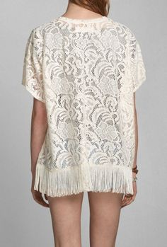 Keegan Kimono love this fringe sweater
