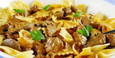 slow cooker beef stroganoff dairy at the end
