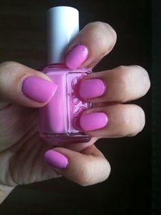 Nail polish: Essie Chastity