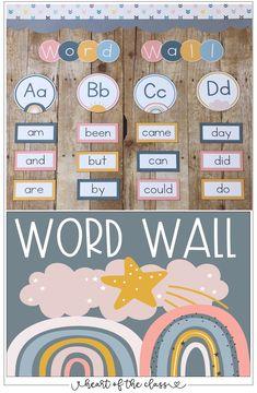 Preschool Classroom Themes, Classroom Word Wall, Classroom Design, Future Classroom, Seasonal Classrooms, Classroom Setup, Classroom Environment, Classroom Inspiration, Meet