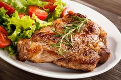 Pork Chops, Salmon Burgers, Turkey, Treats, Chicken, Ethnic Recipes, Food, Google Search, Meat