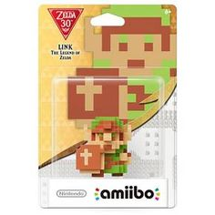 Zelda Series<br><br>This amiibo represents a 3-D imagining of the 8-bit Link from the original Legend of Zelda™ game on the Nintendo Entertainment System. Armed only with a sword and shield, this hero set out to save the land of Hyrule and its imprisoned princess, Zelda, from the evil Ganon.<br><br>Introducing amiibo™: character figures designed to connect and interact with compatible games. By tapping the amiibo over your Wii U GamePad, you'll o...