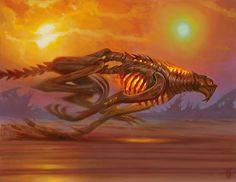 Slash Panther- MtG art