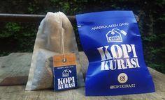 Kopi Celup Arabika Aceh Gayo plus gula sachet - Kopikurasi