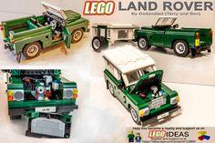 Dadandlad Lego Land Rover