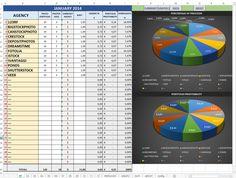 Excel for Microstock Sales by Giovanni Bertagna, via Behance