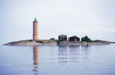 Is there anything more romantic than staying overnight on a distant island in a lighthouse? The experience is topped off with a great ferry journey among the islands. Helsinki, Lighthouse Lighting, Lighthouse Pictures, Little Island, Road Trip, Camping Car, Archipelago, Wonders Of The World, Places To Go