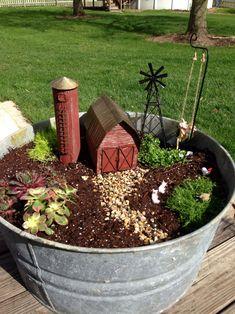 Magical Beautiful Fairy Garden Ideas 212