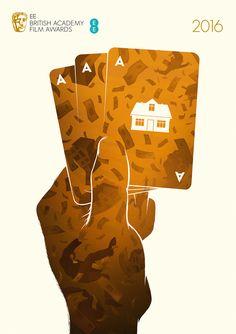 Windows to Another World, Bafta 2016 Film Awards illustrations - Big Short