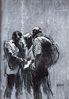 pinterest.com/fra411 #illustration - Mitchell Hooks