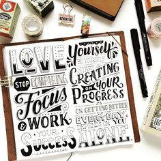 Layout is crucial for hand lettering and @myedeleon is great at it!! Feel free to share your work at http://ift.tt/2uLoFk2 #goodtype #ligaturecollective #typographie #typegang #typeyeah #thedailytype #typographyinspired #typespot #typedrawn #greattype #tyxca #slowroastedco #50words #typism #brushlettering #designspiration #calligritype #handdrawntype #calligraphy #typography #lettering #typografi #thedesigntip #typematters #type #letteringco #typespire #typographie #handmadefont…
